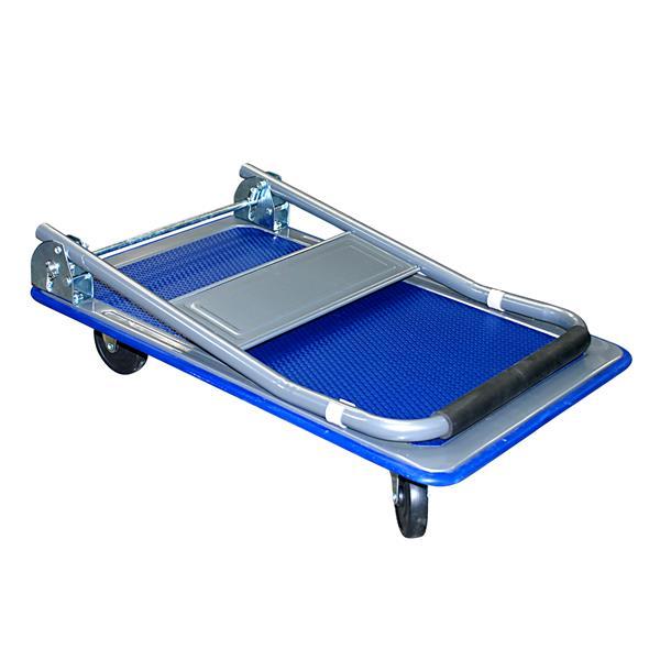 Toolway Platform Hand Truck - 18-in - Metal - Blue