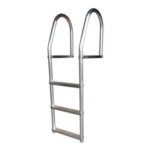 Dock Edge + ECO Weld Free Aluminum Dock Ladder - 3 Steps