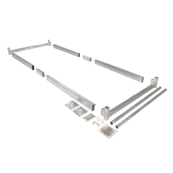Dock Edge + Dockside Hybrid Dock Kit - Aluminum