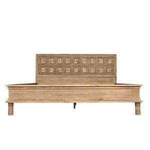 CDI Furniture Sand Natural Wood Light Finish King Bed