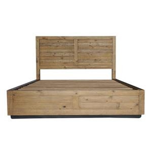 CDI Furniture Prarie Natural Wood Medium Finish Queen Bed