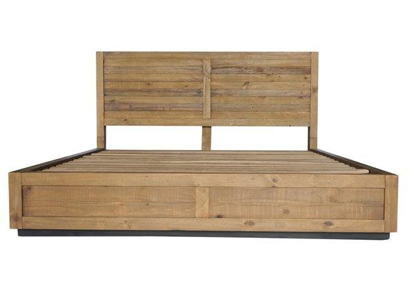 CDI Furniture Prarie Natural Wood Medium Finish King Bed
