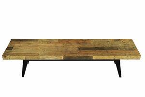 CDI Furniture Dixon 18-in x 71-in Brown Wood Bench
