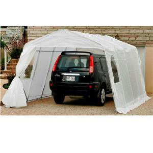 Abri pour voiture simple 11' x 19', transparent
