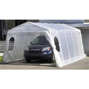Car Shelter - White