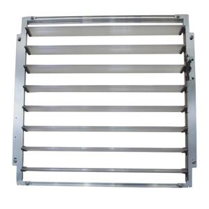 Greenhouse Side Louver Window -
