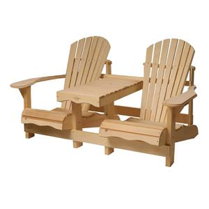 Country Comfort Chairs Cape Cod Gossip Bench
