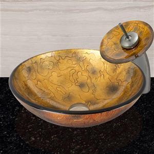 Vasque de salle de bain Shapes, cuivre