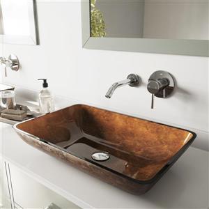 Ensemble de vasque de salle de bain et robinet, 22''