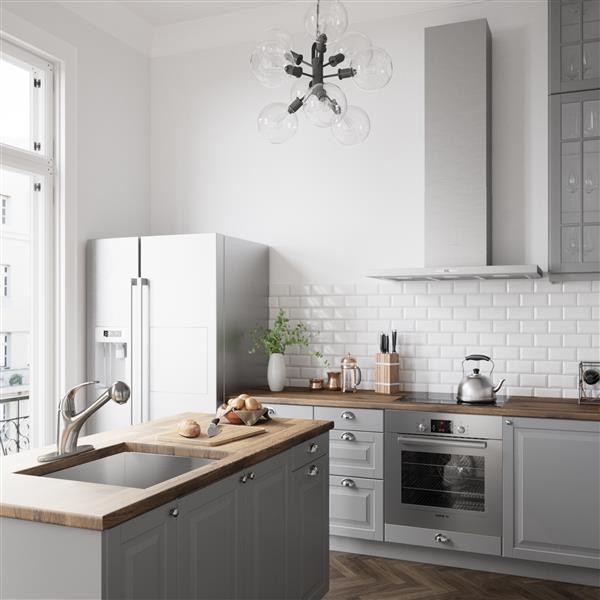 Robinet de cuisine avec douchette rétractable de VIGO