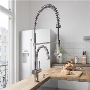Dresden Pull-Down Spray Kitchen Faucet In Chrome
