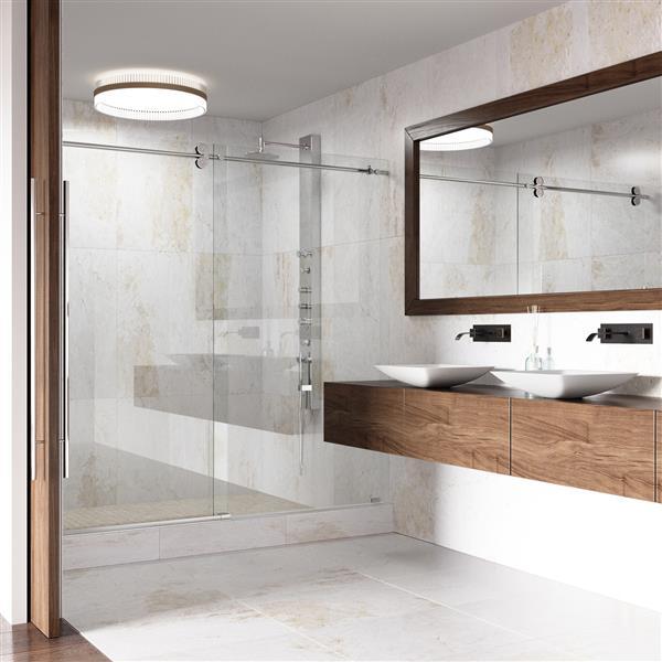 Robinet de salle de bain mural, Titus