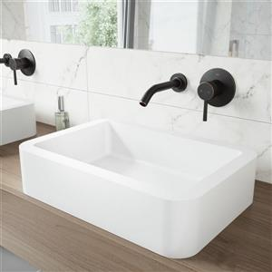 Olus Wall Mount Bathroom Faucet With Pop-Up