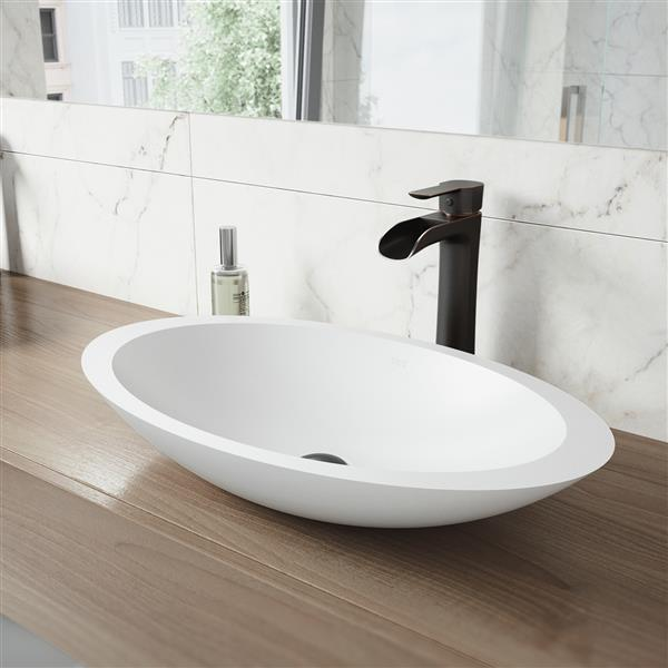 vigo robinet pour vasque de salle de bain niko. Black Bedroom Furniture Sets. Home Design Ideas