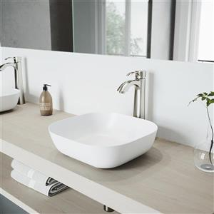 Otis Vessel Bathroom Faucet In Brushed Nickel
