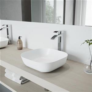 Robinet pour vasque de salle de bain Durix, chrome