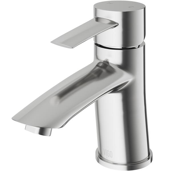 Bova Single Hole Bathroom Faucet In Brushed Nickel