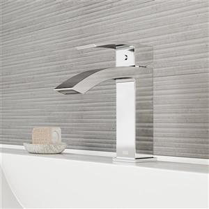 Robinet de salle de bain monotrou Satro, chrom