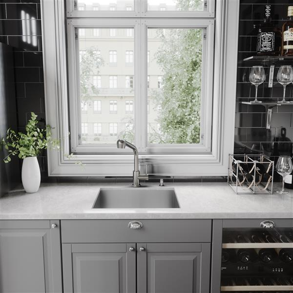VIGO Avondale Pull-Out Spray Kitchen Faucet