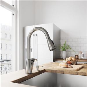 Romano Pull-Down Spray Kitchen Faucet
