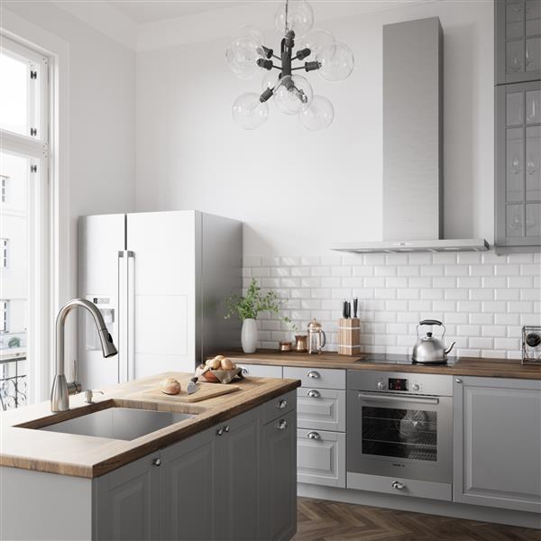 Robinet de cuisine avec douchette rétractable, Aylesbury