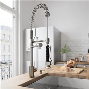 VIGO Zurich Pull-Down Spray Kitchen Faucet