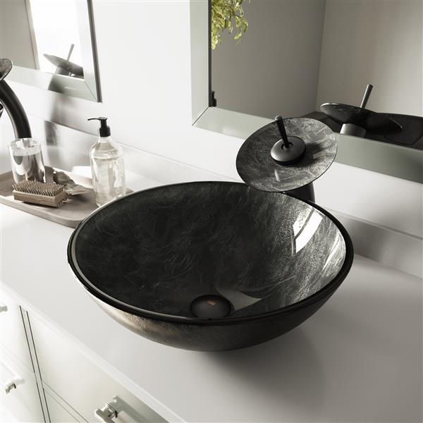 Vasque de salle de bain, onyx