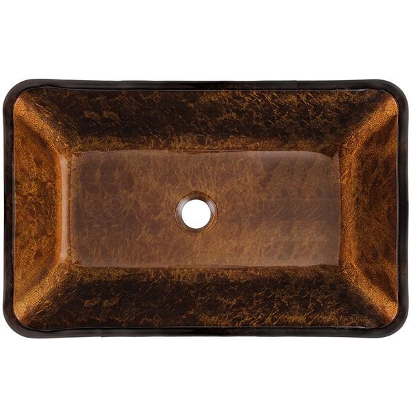 Glass Vessel Bathroom Sink - 22 1/2''