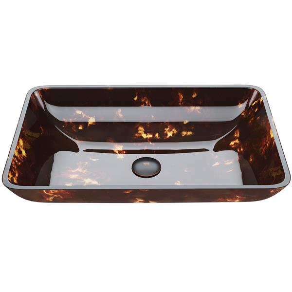Vasque de salle de bain - Brown