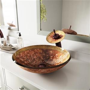 Vasque de salle de bain - Cuivre