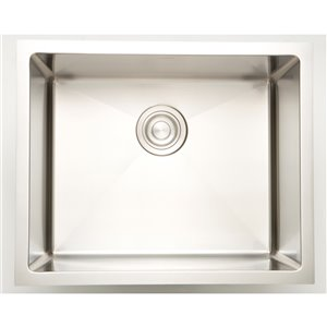 "American Imaginations Undermount Sink - 16"" x 14"" - Stainless Steel"