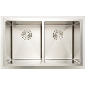 "American Imaginations Sinks - 18"" - Stainless Steel - Chrome"