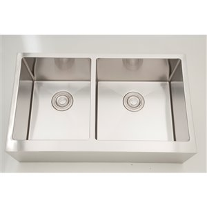 """American Imaginations Sinks - 19"""" - Stainless Steel - Chrome"""