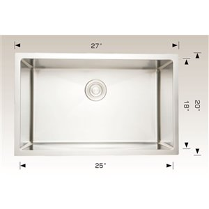 Undermount Single Sink - 27