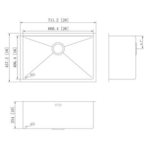 Undermount Sink - 28