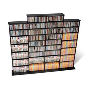 Prepac Furniture Quad Width Wall Multimedia Storage