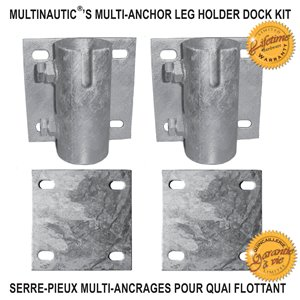 Multinautic 19111 Multi-Anchor Leg Holder Dock Kit,19111