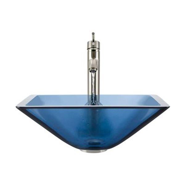MR Direct Aqua Bathroom 718 Vessel Faucet Ensemble,603-AQ-71