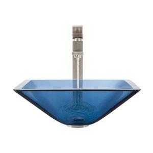 MR Direct Aqua Bathroom 721 Vessel Faucet Ensemble,603-AQ-72