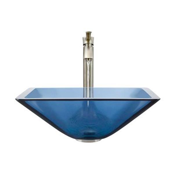 MR Direct Aqua Bathroom 726 Vessel Faucet Ensemble,603-AQ-72