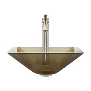 MR Direct Taupe Bathroom 726 Vessel Faucet Ensemble,603-TAU-
