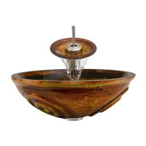 MR Direct Bathroom Waterfall Faucet Ensemble,610-WF-BN