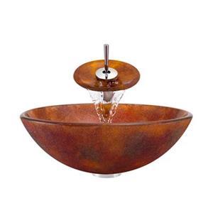 MR Direct Bathroom Waterfall Faucet Ensemble,614-WF-C
