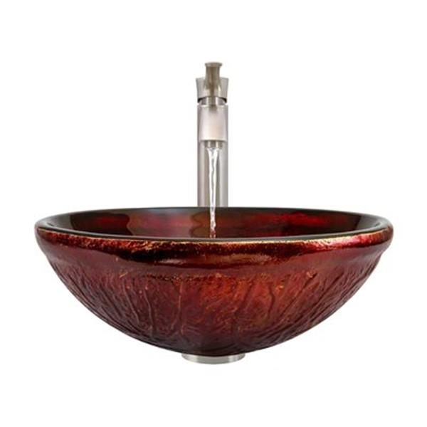 MR Direct Bathroom 726 Vessel Faucet Ensemble,618-726-BN