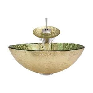 MR Direct Bathroom Waterfall Faucet Ensemble,623-WF-BN