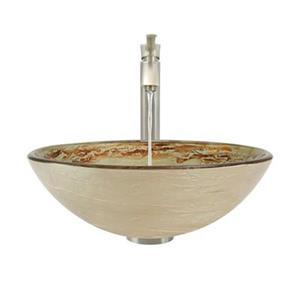 The MR Direct Bathroom 726 Vessel Faucet Ensemble,631-726-BN