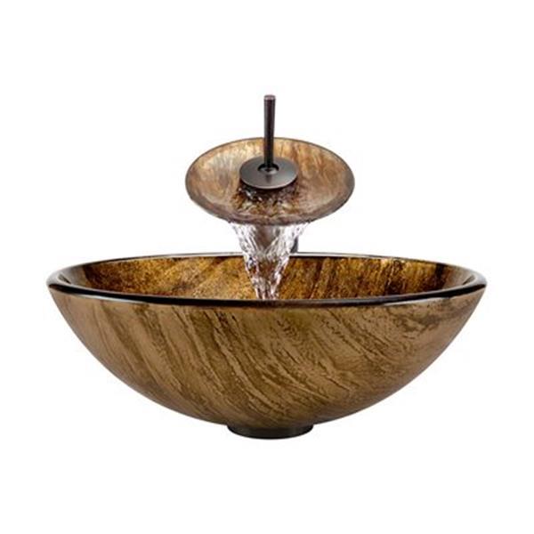 MR Direct Bathroom Waterfall Faucet Ensemble,632-WF-ORB