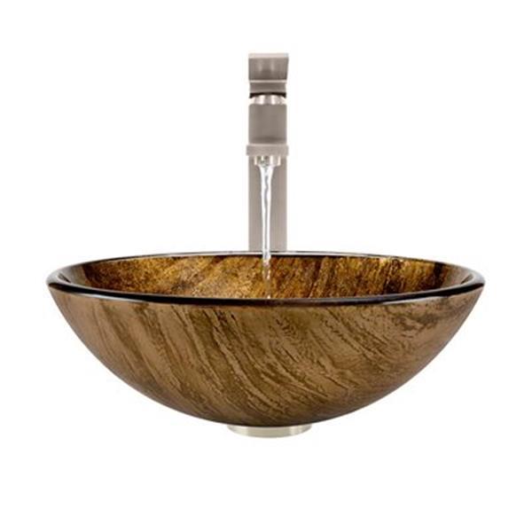 MR Direct Bathroom 721 Vessel Faucet Ensemble,632-721-BN