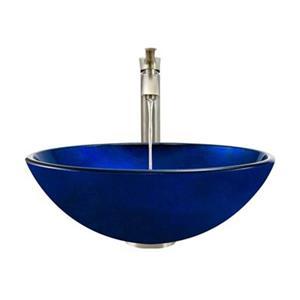 MR Direct Bathroom 726 Vessel Faucet Ensemble,644-726-BN