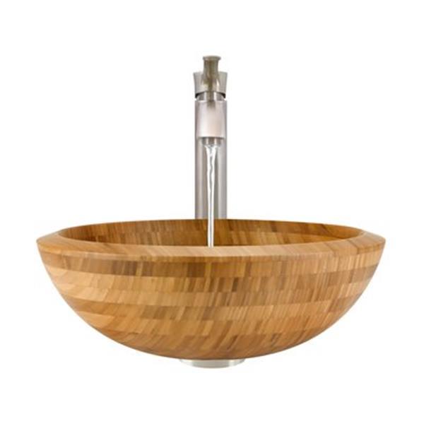 MR Direct Bathroom 726 Vessel Faucet Ensemble,890-726-BN